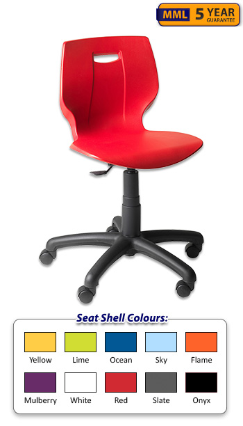 height adjustable ict chairs